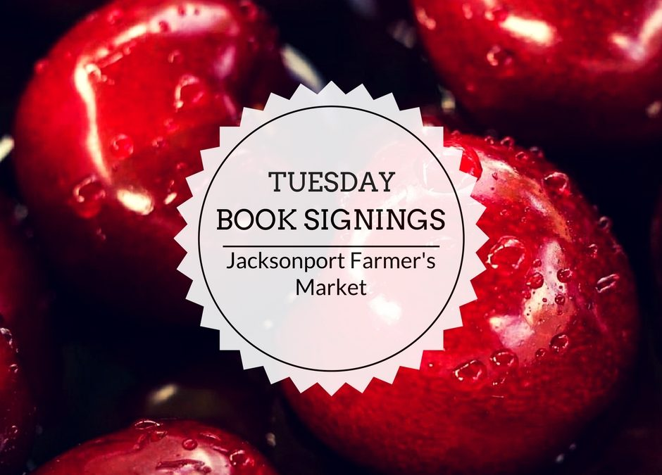 Book Signings | Tuesdays starting May 16 | Jacksonport Farmer's Market