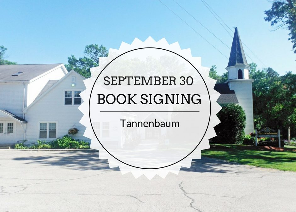 Book Signing | September 30 | Tannenbaum