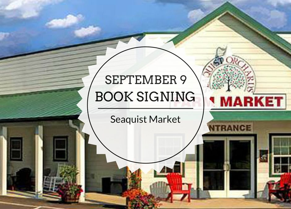 Book Signing | September 9 | Seaquist Market
