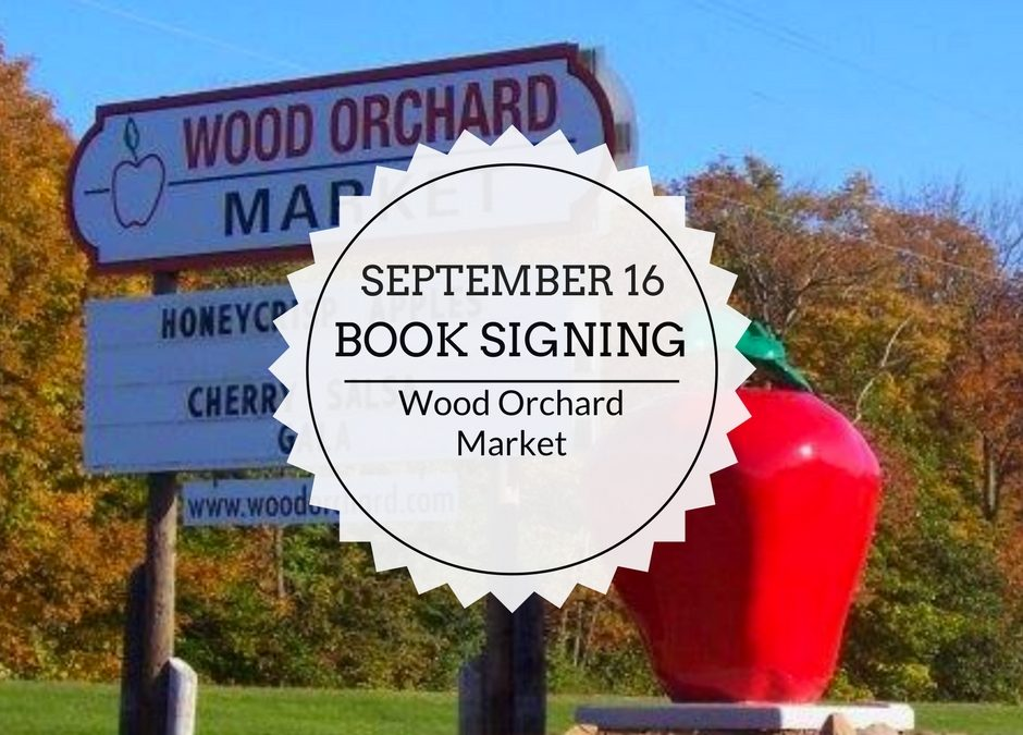 Book Signing | September 16 | Wood Orchard Market