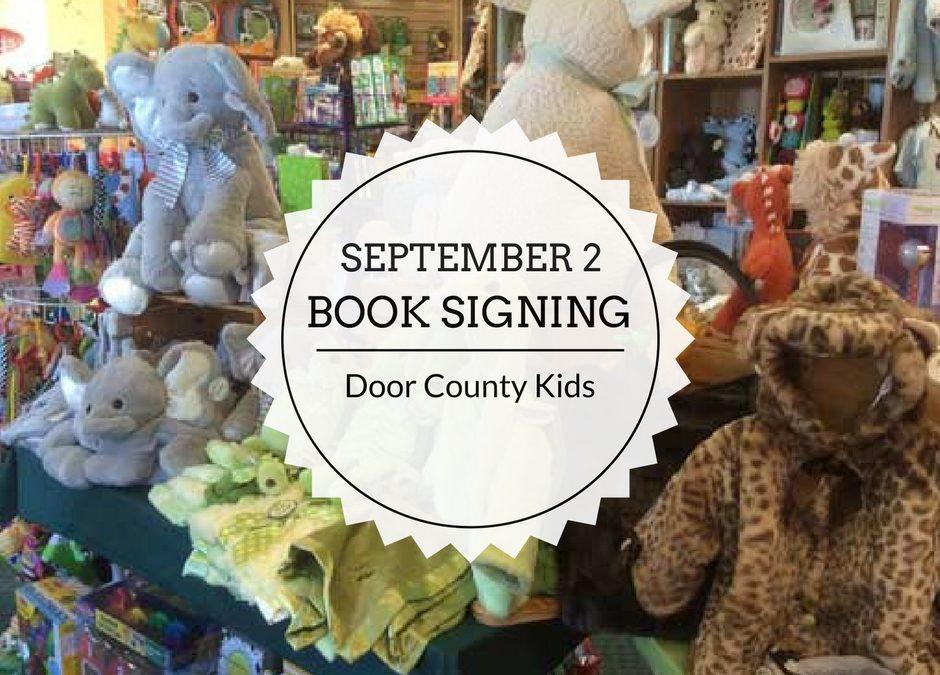 Book Signing | September 2 | Door County Kids